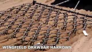 Wingfield American Drawbar Drag Harrows
