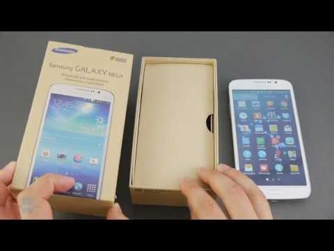 Samsung Galaxy Mega 5.8 Unboxing