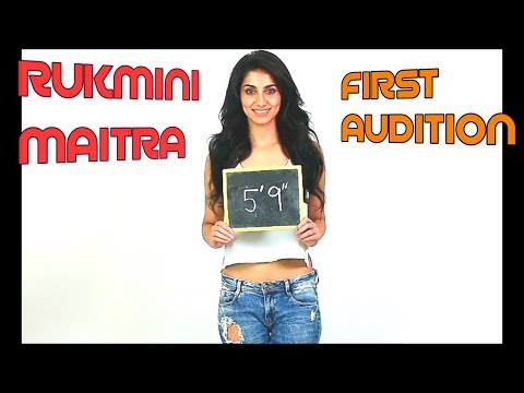 Actor / Model Rukmini Maitra First Audition