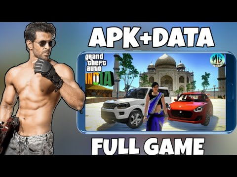 DOWNLOAD GTA INDIA 6.0 MODPACK FOR ANDROID   APK+DATA   INDIAN CARS , INDIAN MONUMENTS(HINDI/URDU)