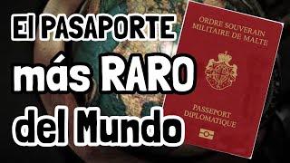 ¡Hay menos de 500 PASAPORTES como este en TODO EL MUNDO!
