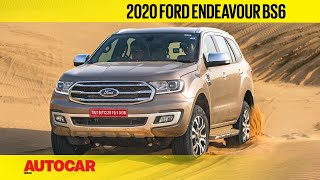 Dune Bashing in the new Ford Endeavour | Off-Road Review | Autocar India