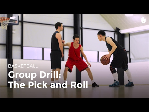 Group Drill: The Pick And Roll | Basketball