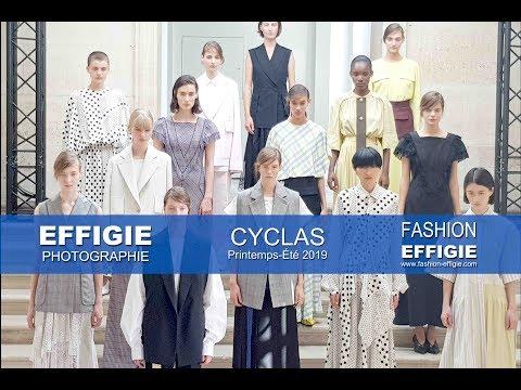 """Effigie Photographie au coeur du défilé Cyclas """" Abstraktes Bild """" SS2019"""