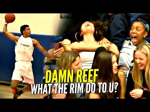 WHAT THE RIM DO TO U BRO!? Shareef O\'Neal PUNISHING The Rim Just Like His Dad!
