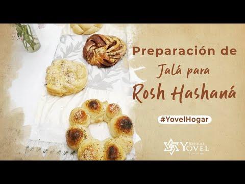 Preparación de #Jalá para Rosh HaShaná