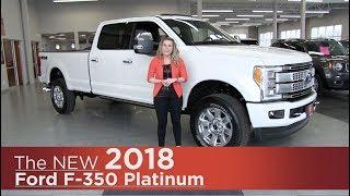 New 2018 Ford F-350 Platinum Super Duty - Elk River, Coon Rapids, Mpls, St Paul, St Cloud, MN