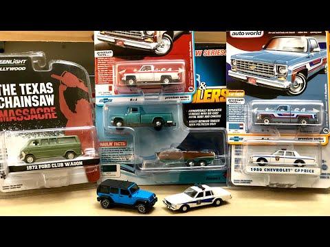 Auto World Wrangler Greenlight Ford Club Wagon Johnny Lightning '65 International 1200 1/64 #Diecast