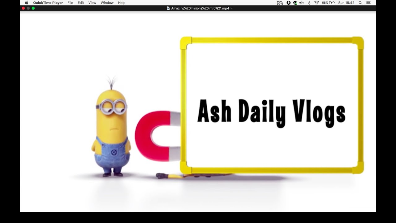 ASH DAILY VLOGS YOUTUBE MINIONS CHANNEL TRAILER! | Doovi