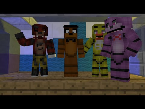 Minecraft five nights at freddy's 2 Song  ( Animation )