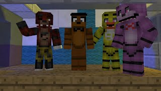 Minecraft five nights at freddy s 2 Song Animation