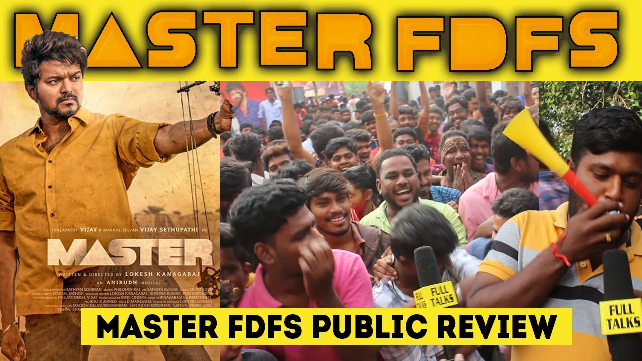 Master Movie Review Tamil ...