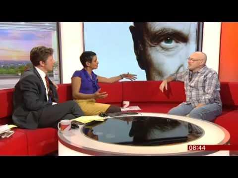 Phil Collins Interview - 2016, BBC Breakfast