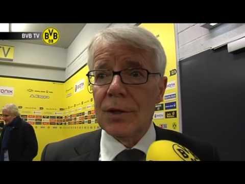 BVB - Bayer Leverkusen: Freies Interview mit Reinhard Rauball