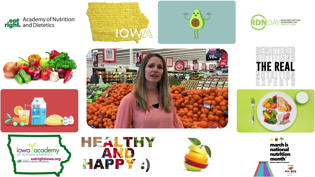 National Nutrition Month 2020 - Stacey Loftus