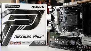 Build a portable gaming and mining rig - ASRock AB350M Pro4 plus AMD Ryzen 5 2400G