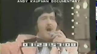 Tony Clifton aka Andy Kaufman on The Dinah Shore Show