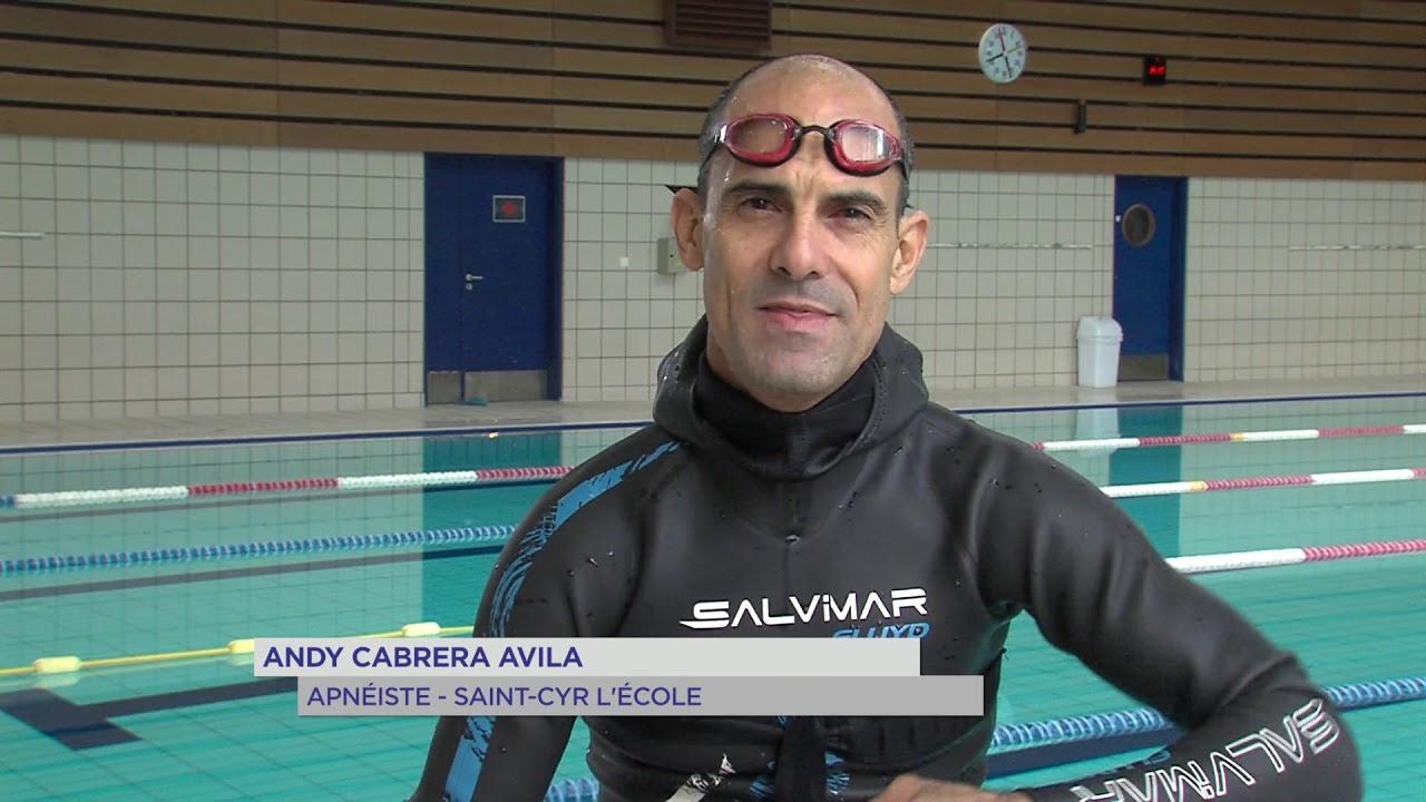 Yvelines   Portrait : Andy Cabrera Avila, l'apnée de Cuba à St-Cyr l'école