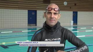 Yvelines | Portrait : Andy Cabrera Avila, l'apnée de Cuba à St-Cyr l'école