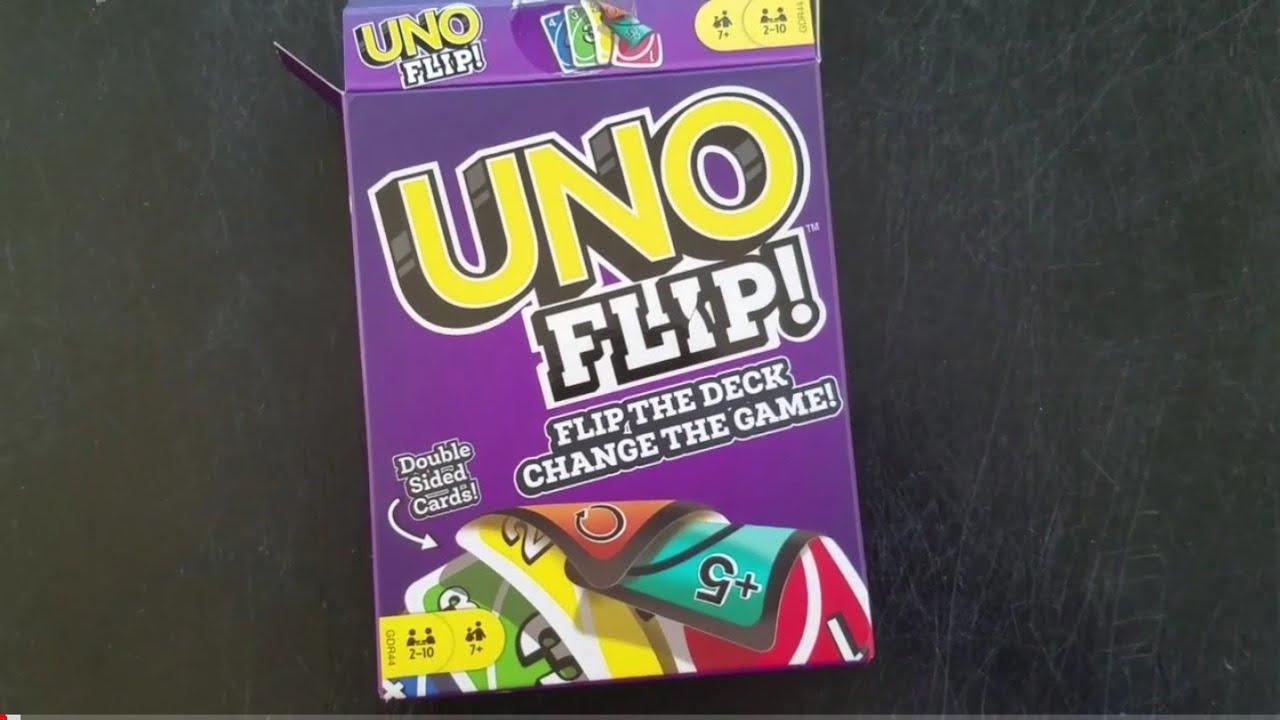 31f0e84ad68e UNO Flip! Review - YouTube