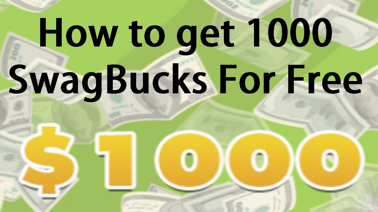 Earn 1000 swagbucks a day - How To Get A Lot Of Free Swagbucks Fast And Easy