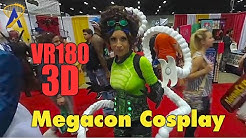 VR180 Megacon 2019 Cosplay in 3D