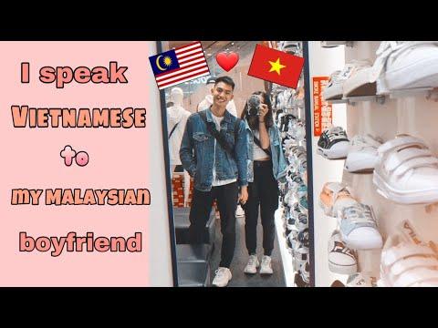 SPEAKING VIETNAMESE TO MY MALAYSIAN CHINESE BOYFRIEND♡CK COUPLE | Kaylee Thao