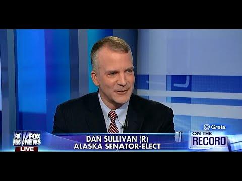 • Alaska Senator-Elect Dan Sullivan • Interview • Greta • 11/13/14 •