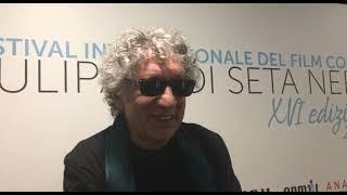 Eugenio Bennato intervistato dal Tg2 al Festival TSN 2021