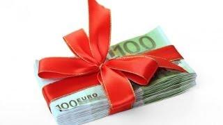 Как оригинально подарить деньги на свадьбу(Закажи колготки и получи в подарок 500 рублей http://goo.gl/jVlQy2 Как оригинально подарить деньги на свадьбу: Денежна..., 2014-03-05T13:38:53.000Z)