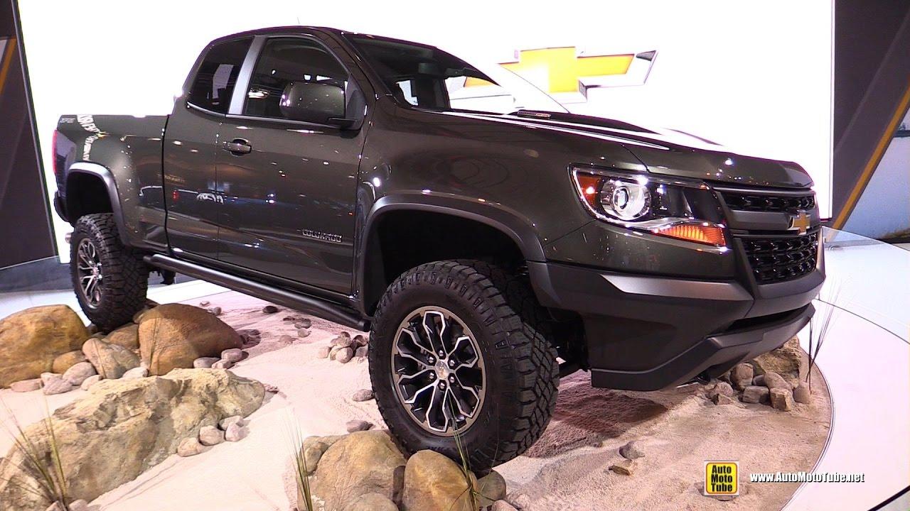 2017 Chevrolet Colorado Zr2 Exterior And Interior Walkaround 2017 Ny Auto Show Youtube