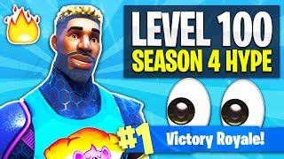 Meteor Strikes Incoming! - Level 100 // Season 4 HYPE! (Fortnite: Battle Royale LIVE Gameplay)