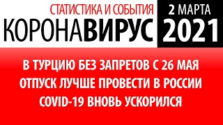 2 марта 2021 статистика коронавируса в России на сегодня
