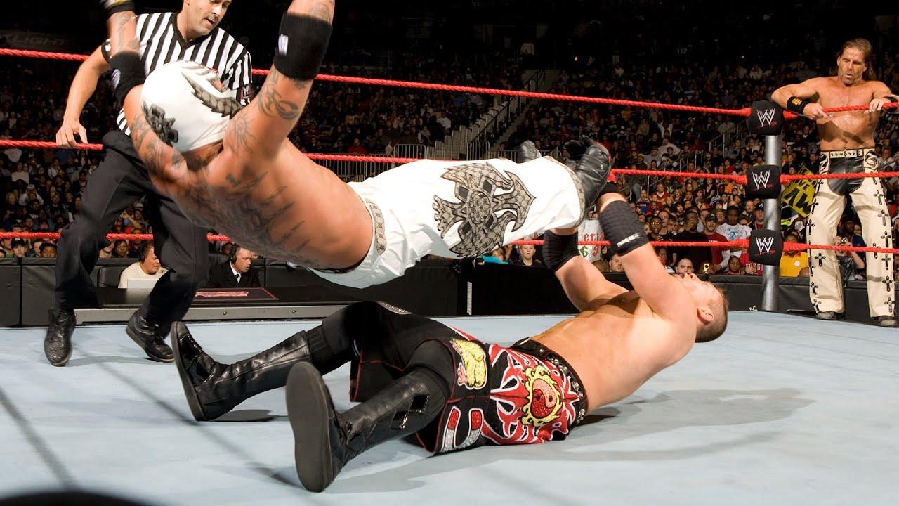 Rey Mysterio & Shawn Michaels team for first time against Miz & Morrison: Raw, Nov. 17, 2008