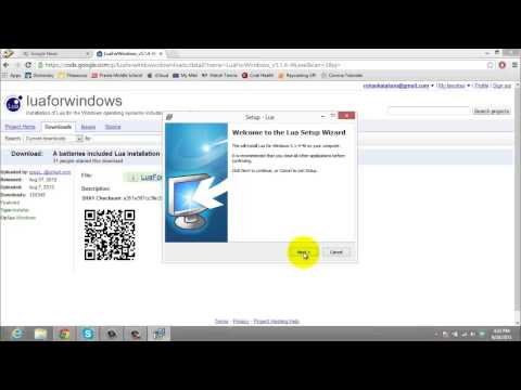 How to Install Lua on Windows PC