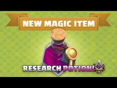 Sneak Peek #1 : New Research Potion - Big Change To Magic Hammers😱😮