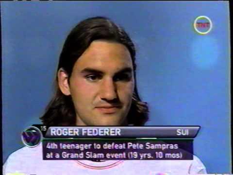 2001 Wimbledon - Roger Federer interview