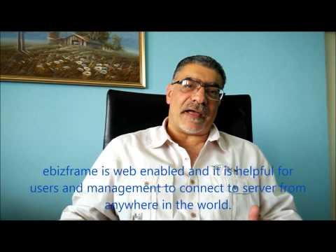 Mr. Dany of Hyper Psaro Group, Democratic Republic of Congo (DRC) talks about ebizframe ERP & ESS