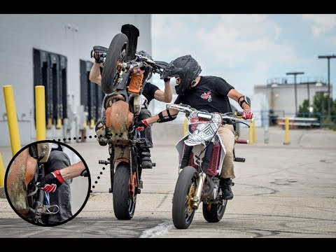 DON'T BE ANGRY WE'RE JUST SUPERMOTARDED!! || #MilwaukeeSupermoto || 2018