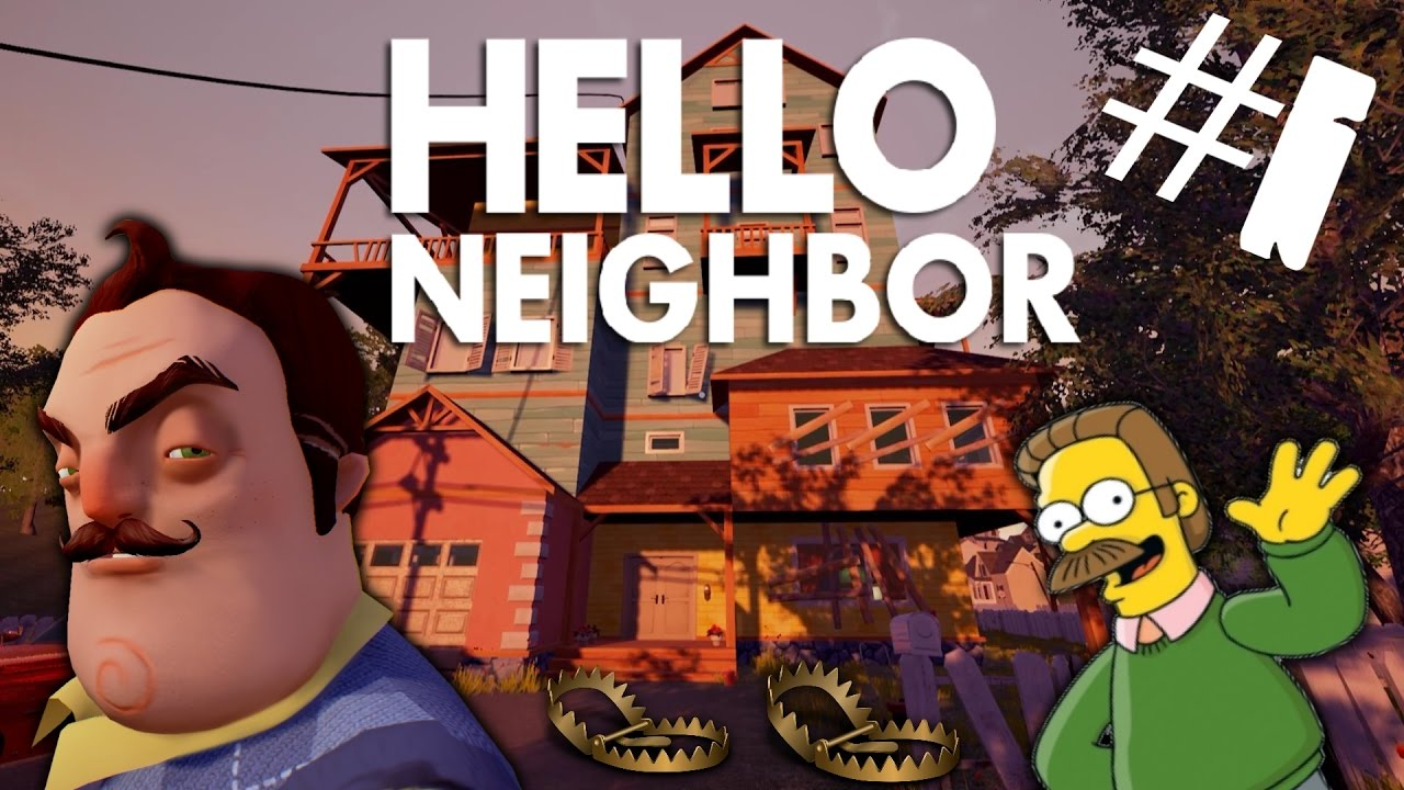 The Scariest Game Ever Hello Neighbor Episode 1 Youtube