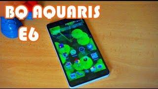 review bq aquaris e6 el hermano mayor de bq