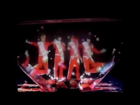 DISH// video holograma 3D Kitkat