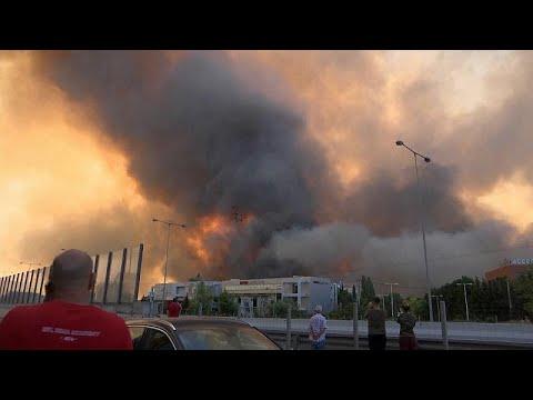 شاهد: اندلاع حرائق جديدة في اليونان وإخلاء بلدات  - نشر قبل 2 ساعة