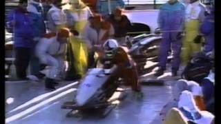 2man Calgary 1988 4th Run