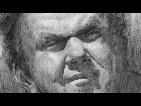 John C. Reilly | Portrait Drawing WnD 24