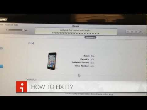 How to FIX error 21 on iPhone / iTouch