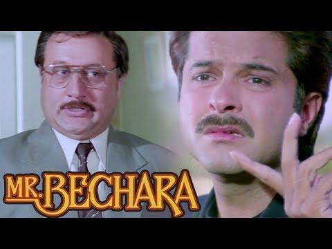 Anil Kapoor Falls In A Trap Of Anupam Kher - Scene 1   Sridevi   Mr.Bechara