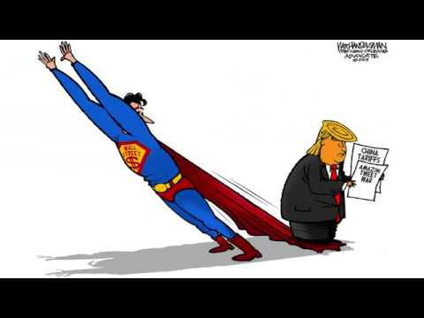 7 Scathingly Funny Cartoons About Trump S Latest Trade War Youtube