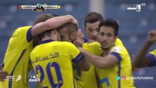 هدف النصر الأول ضد الرائد (محمد السهلاوي) في الجولة 8 من دوري جميل