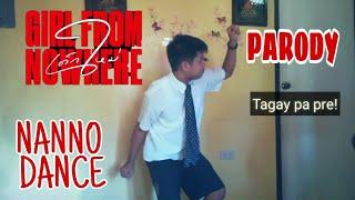 เด็กใหม่ (GIRL FROM NOWHERE) - NANNO'S SEXY DANCE SCENE | PARODY